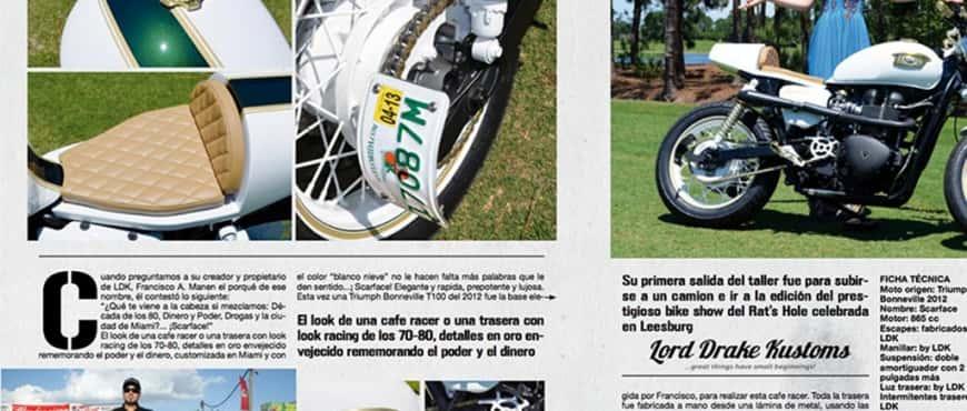 LDK Scarface in Bike Zone Magazine