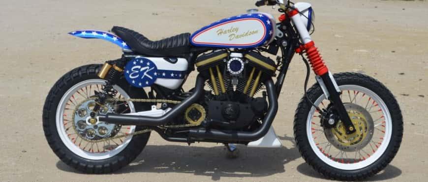 Evel Knievel Scrambler