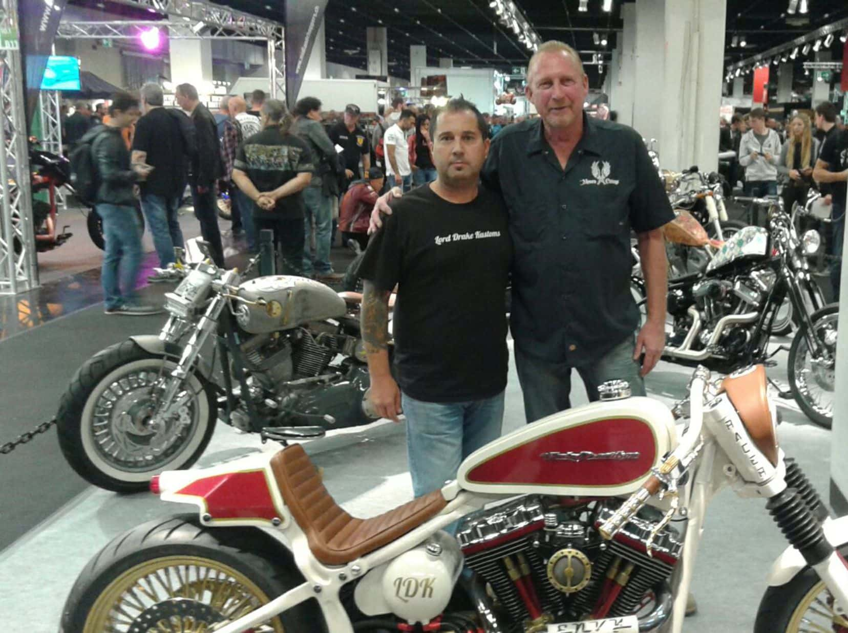 francisco ali manen - lord drake kustoms - larry moore custom cycles