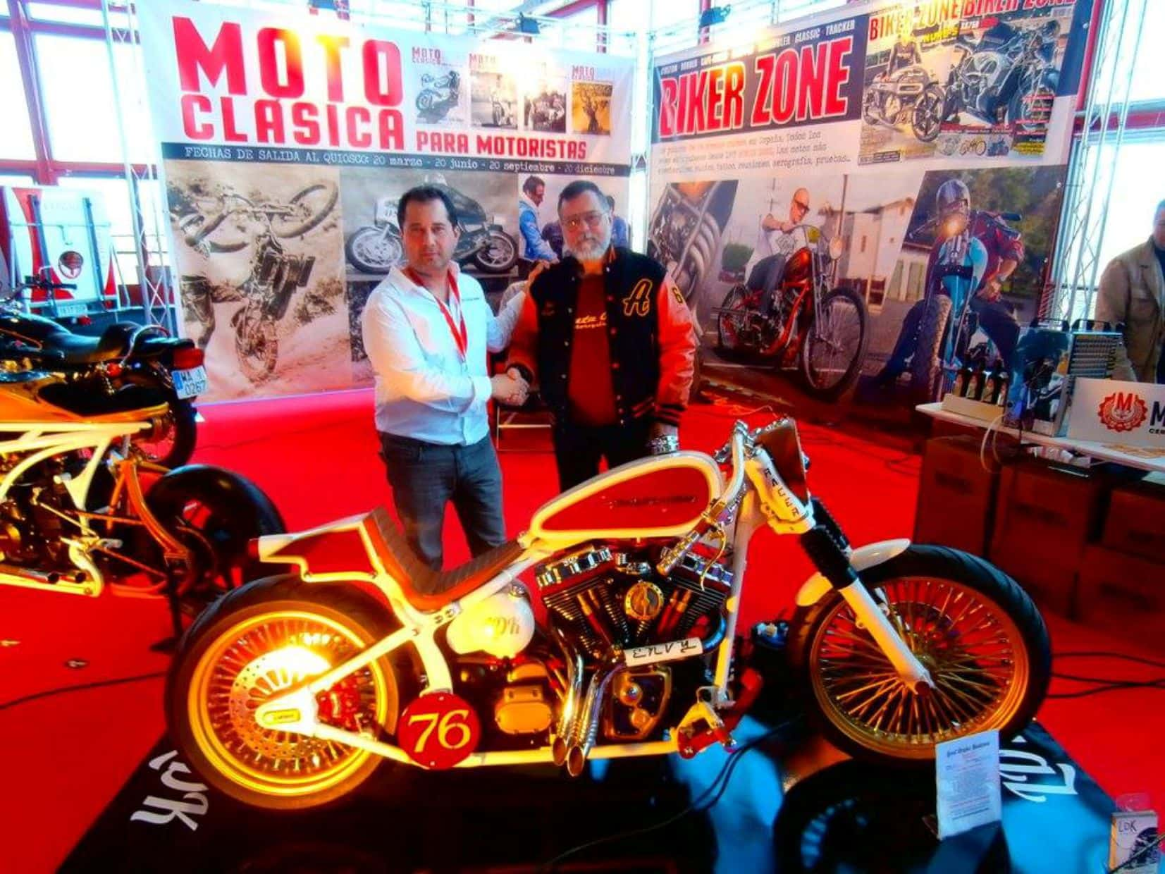 francisco ali manen - lord drake kustoms - ruta 66 motorcycles