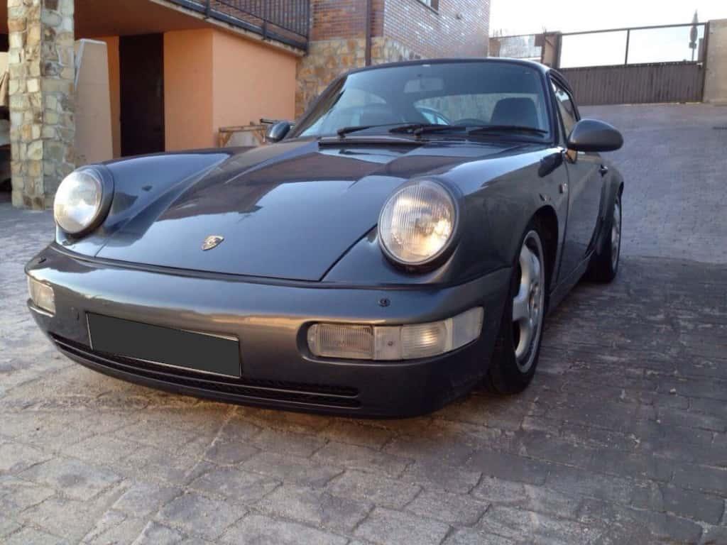 1990 Porsche 911 Carrera 4 964 Lord Drake Kustoms