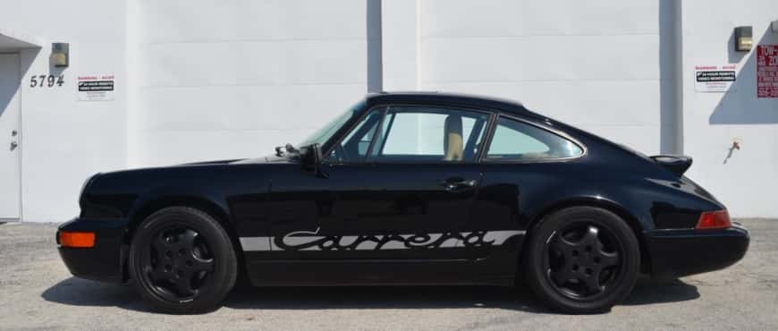 1989 Porsche 911 Carrera 2 (964) lord drake kustoms