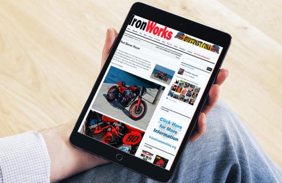 Red Baron on Iron Works digital magazine