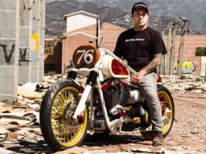 Softail Envy, una de las motos más famosas creadas por Francisco Alí Manén