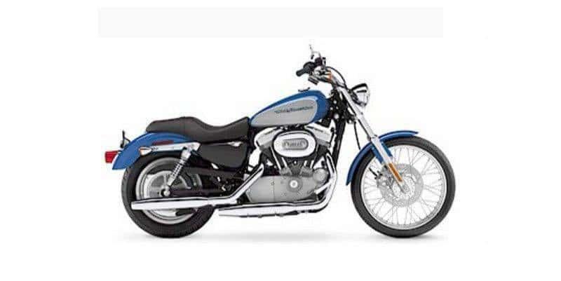 Harley Davidson Sportster 883 before