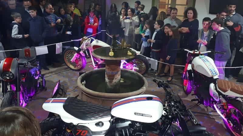 Inauguration exhibition of motorcycles of Lord Drake Kustoms