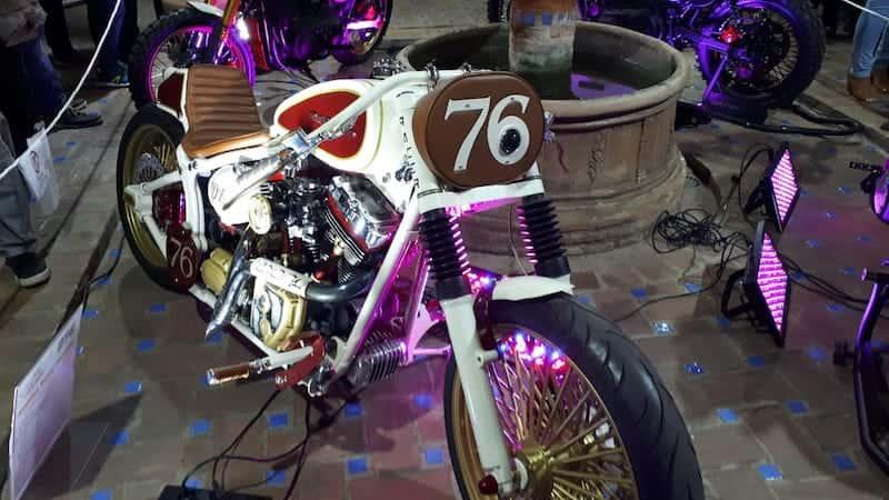 Inauguración exposición de motos de Lord Drake Kustoms