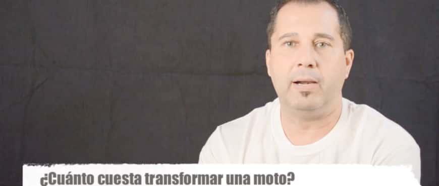¿Cuanto cuesta transformar una moto?