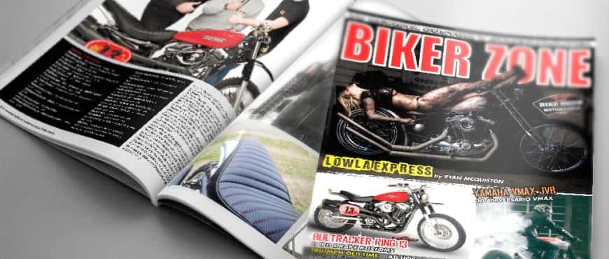 Bultracker 13 by Lord Drake Kustoms in Biker Zone Magazine 261