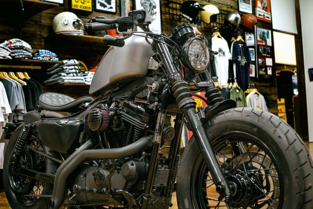 Sportster 48 Bobber de Lord Drake Kustoms
