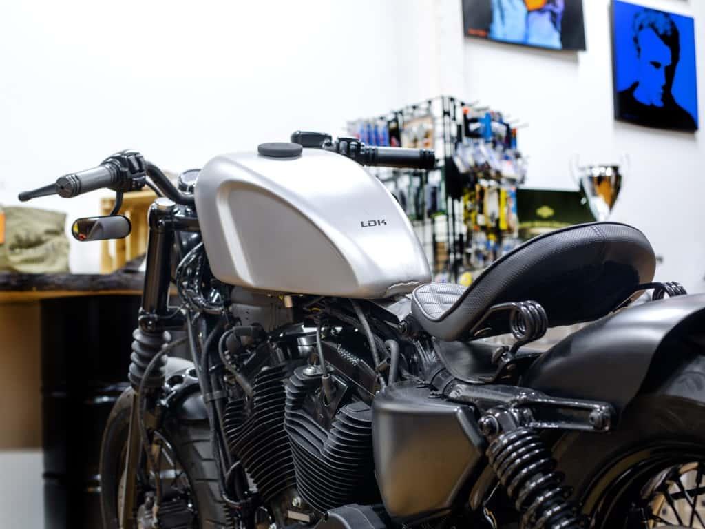 Sportster 48 Bobber A Harley Davidson Old Style Lord Drake Kustoms