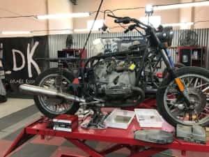 Taller de motos custom en Málaga