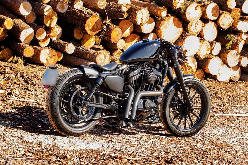 Sportster Black by Lord Drake Kustoms