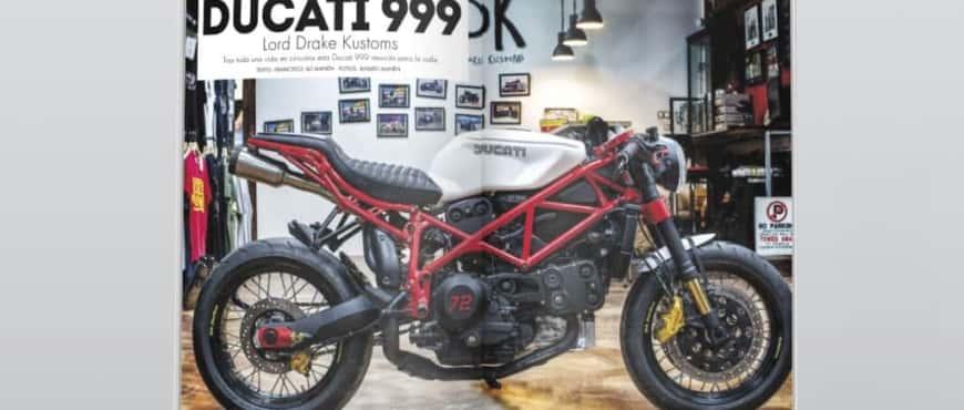 Ducati 999 Neoracer in Biker Zone Magazine