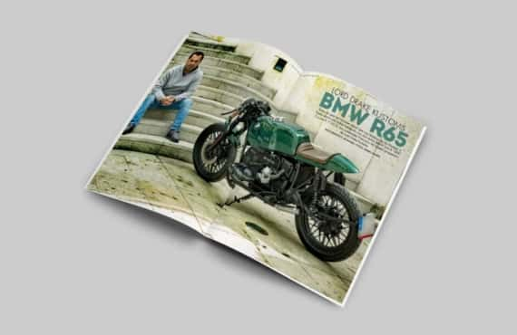 Prensa BMW R65 de Lord Drake Kustoms en Biker Zone 311