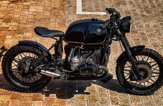 BMW R100 Scrambler by Lord Drake Kustoms