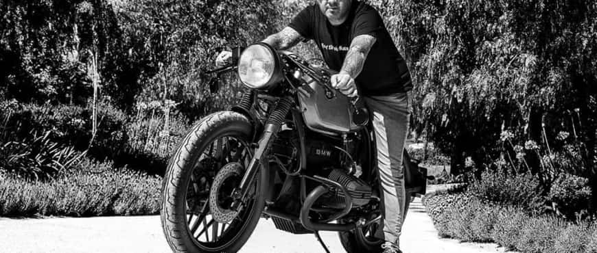 BMW R100 Photo session - Lord Drake Kustoms
