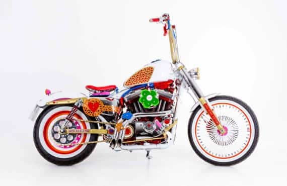 Harley Agatha Ruiz de la Prada by Lord Drake Kustoms