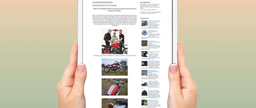 Ride and Read blog