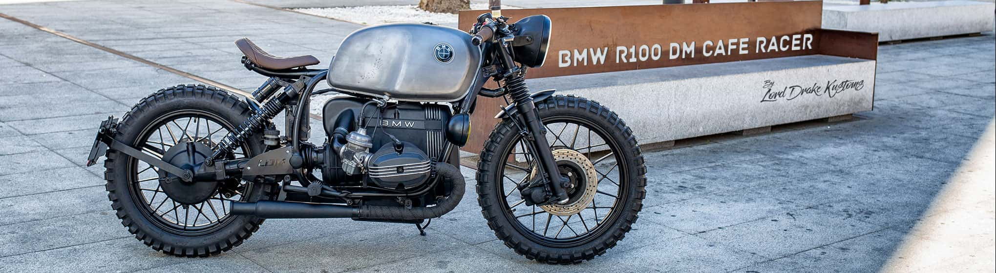 Slider image BMW R100 DM Cafe Racer