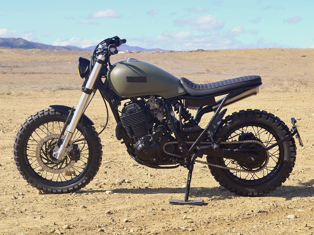Yamaha XT Scrambler por Lord Drake Kustoms