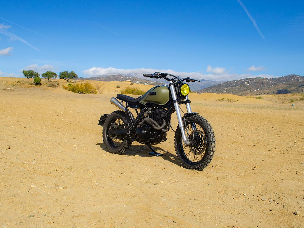 Yamaha XT Scrambler by Lord Drake Kustoms