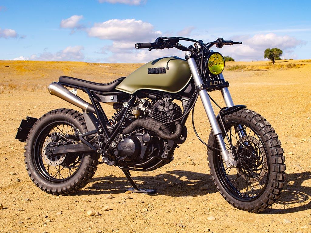 Yamaha XT Scrambler by Lord Drake Kustoms