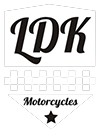 Logo LDK Motorcycles shield