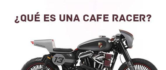 Qué es una cafe racer?