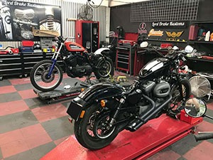 Taller de motos Lord Drake Kustoms