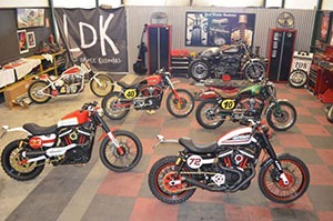 Taller de motos cafe racer scrambler de Lord Drake Kustoms