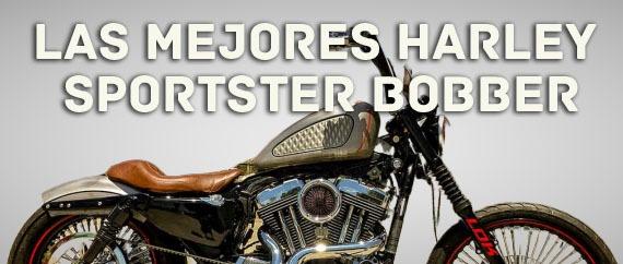 Las mejores Harley Sportster Bobber