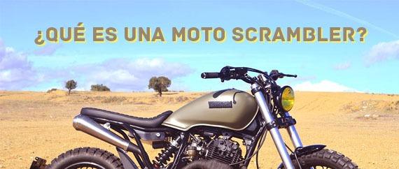 ¿Qué es una moto Scrambler?