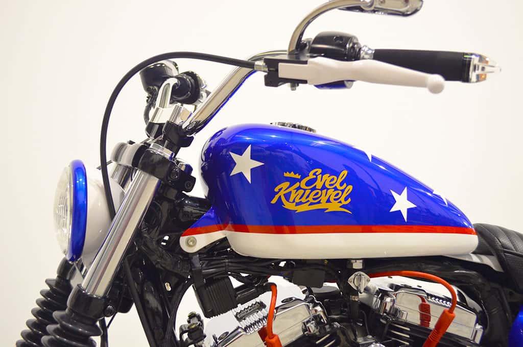 Sportster Scrambler Evel Knievel
