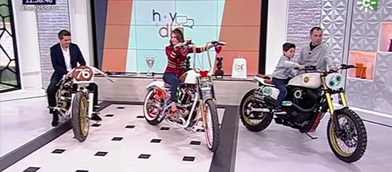 Fran Manen in the Hoy en Día TV Show