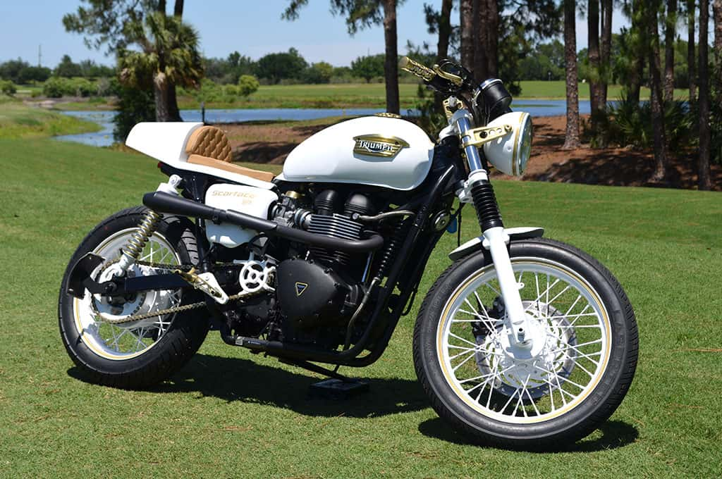 Scarface Triumph Cafe Racer