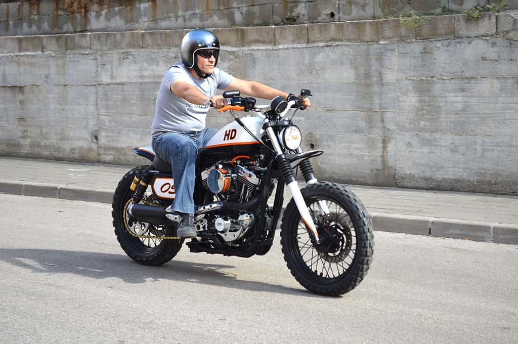 Sportracker Harley Scrambler