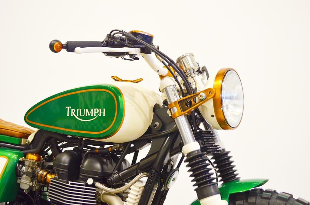 """Triumph """"Copper Boss"""" Scrambler"""