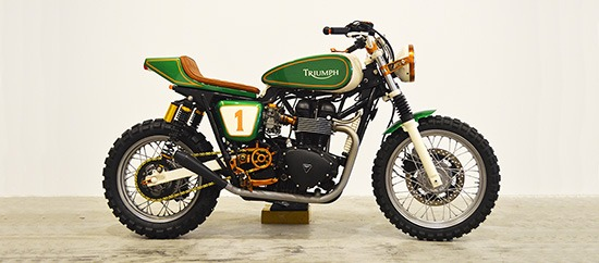"Triumph ""Copper Boss"" Scrambler"