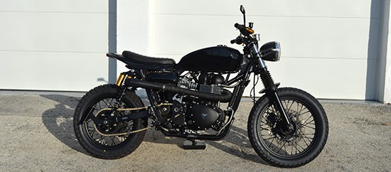 Triumph Scrambler Blacktracker