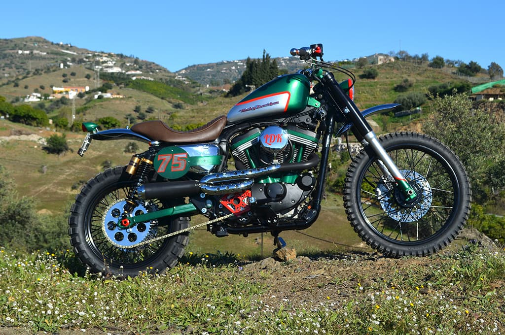 Bultracker 75 Harley Davidson Sportster Scrambler