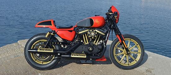 Siebla Racer Harley Davidson Sportster Cafe Racer