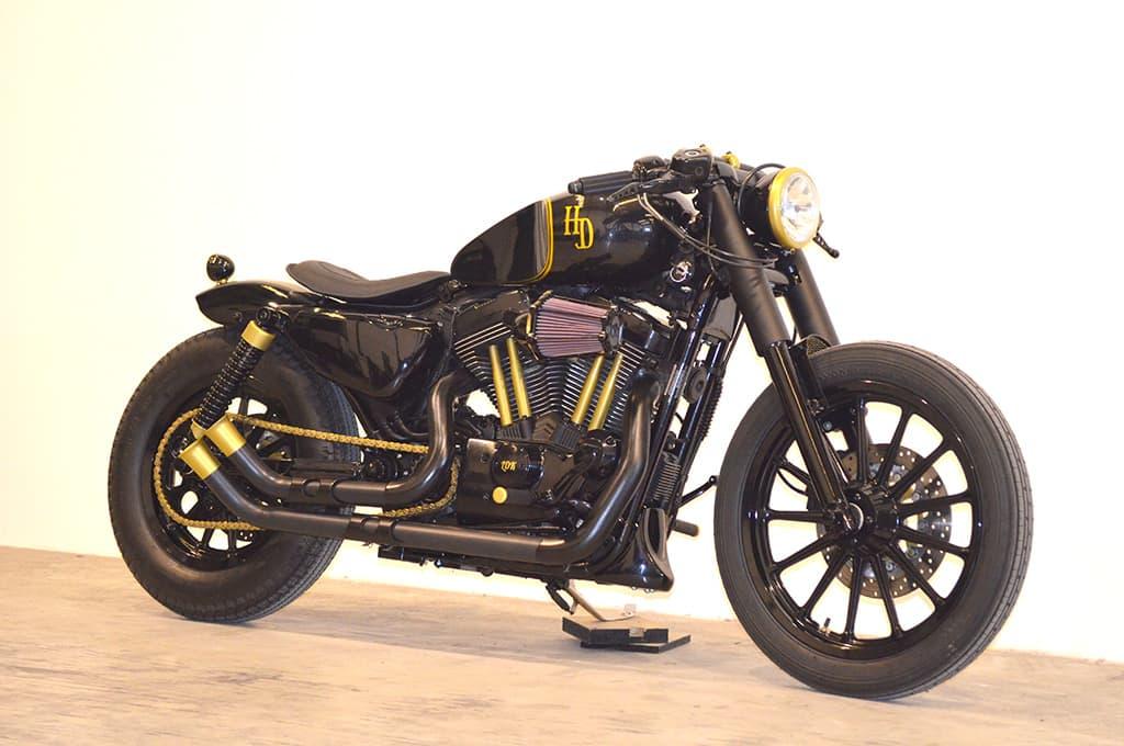 Stormracer Harley Softail Cafe Racer