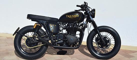 Triumph Bonneville Brat