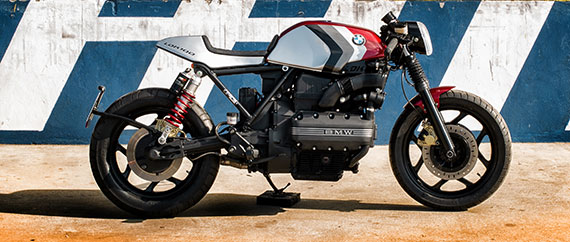 BMW K100 cover