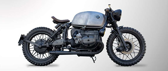 BMW R100 Cafe Racer Scrambler cover