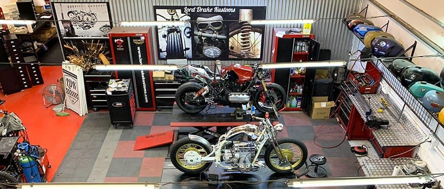 We open a Harley Davidson workshop in Malaga!