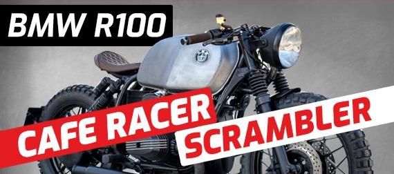 BMW R100 Cafe Racer Scrambler cover image