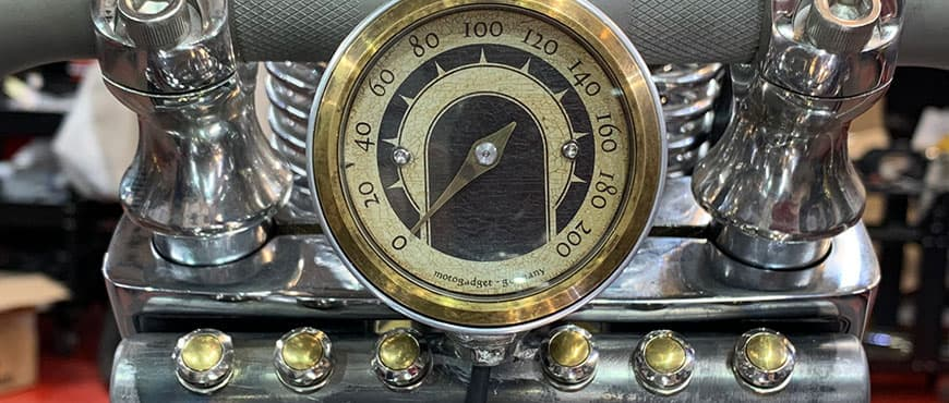 Motogadget odometer for Harley Davidson in Malaga