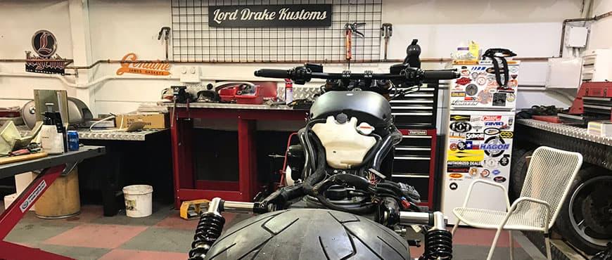 News in our specialized Harley-Davidson workshop!